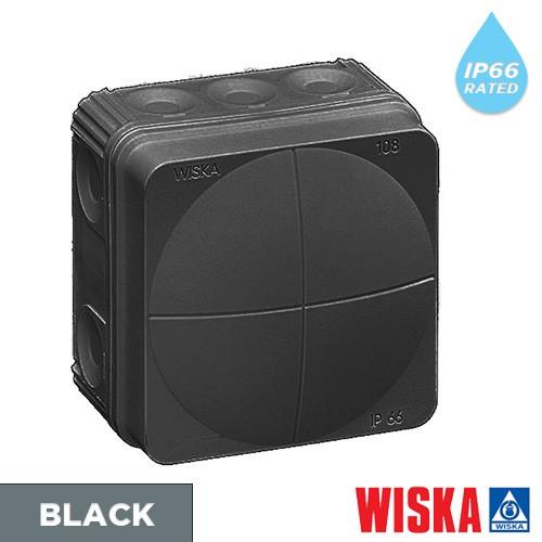 Black-wiska-combi-junction-box