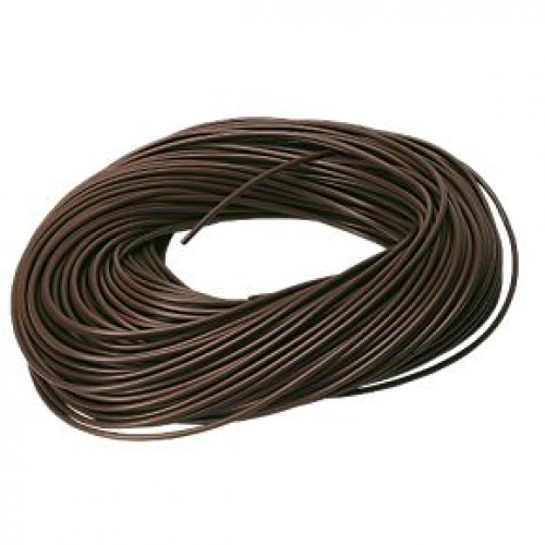 3mm Brown sleeving 100m Drum