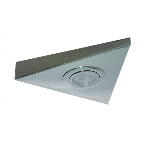 STI01C IP20 Mini Triangular Under Cabinet Fitting in Chrome