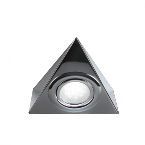 LTI01C 12 Volt 2.1 Watt LED Triangle Lights Chrome