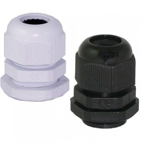 Hellermann Tyton Compression Gland M25 Black