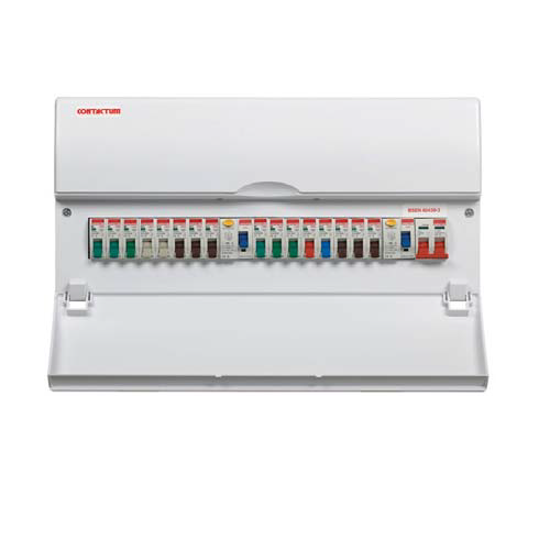 Contactum Consumer Unit - 10 Way High Integrity