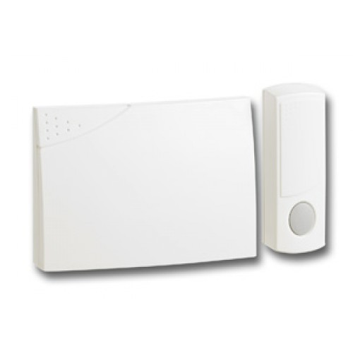 Herald Wirefree Doorchime - White