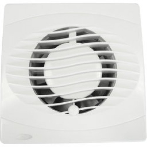 "4"" Wall Extractor fan with humidistat and timer"
