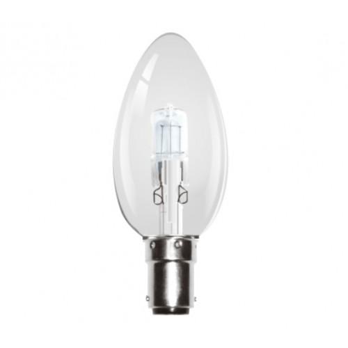 Kosnic Halo 28 W Classic Shape Candle Lamp B15
