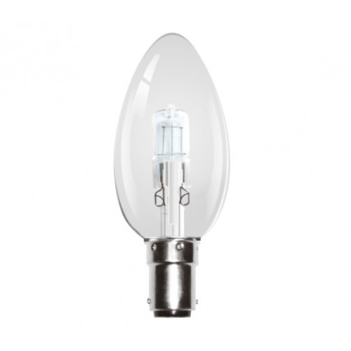 Kosnic Halo 42 W Classic Shape Candle Lamp B15