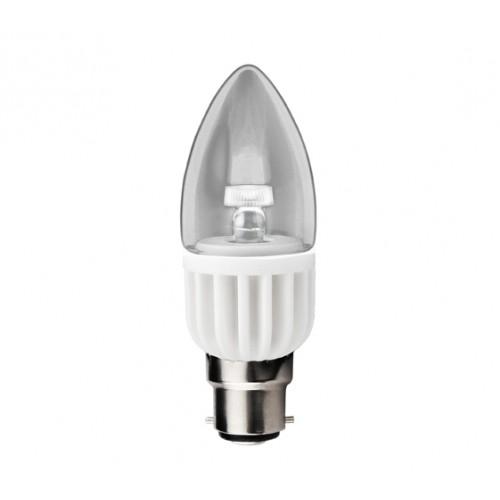 Kosnic LED 3 W Clear CND B22