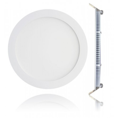 8 Inch LED Panel Downlight White 18w
