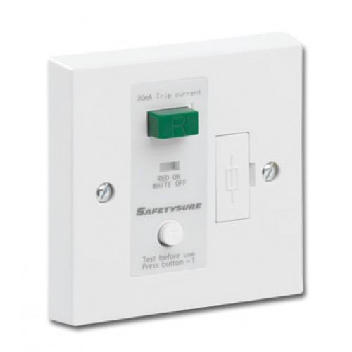 SafetySure White RCD Spur Unit