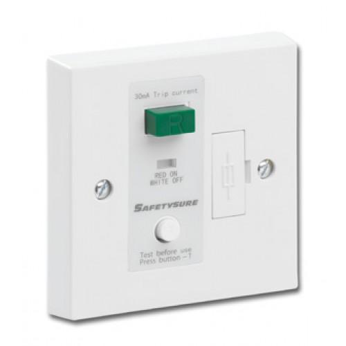 SafetySure White RCD Spur Unit