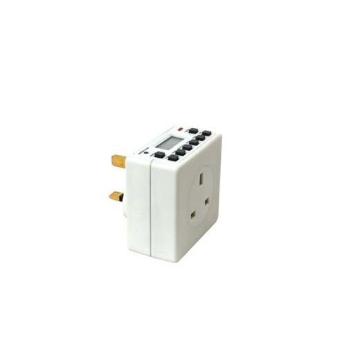 Automatic plug in timer