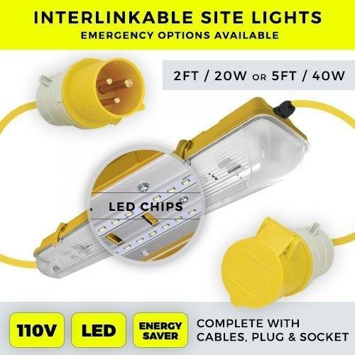 LED Linkable Site Light 110v 5ft 40w