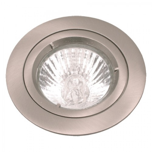 Satin Chrome Die-cast Fixed Downlight GU10