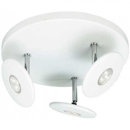 Philips White Triple LED spotlights