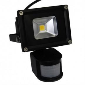 10W LED Floodlights with PIR = 150W Halogen Floodlight