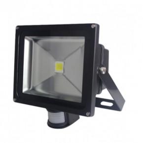 30W LED Floodlights with PIR = 500W Halogen Floodlight