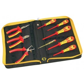 C.K VDE Pliers and Screwdrivers Kit 9 Piece PH & SL Tips + CombiCutter1