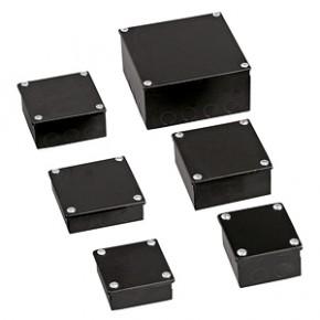 Black Steel Adaptable Box 225 x 150 x 100