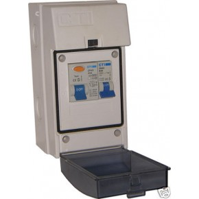 CTI Shower Consumer Unit IP55