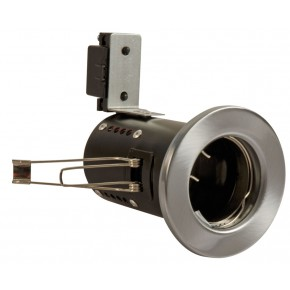 Fire Rated Downlights Satin Chrome GU10